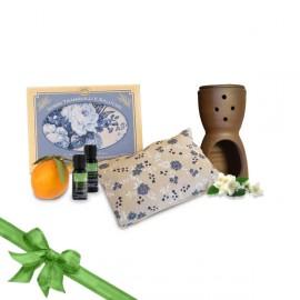 Set home relax cuscino rilassante e profumi essenze - Profumi per ambienti fatti in casa ...
