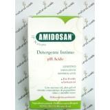 AMIDOSAN  Detergente Intimo PH Acido | Lenitivo ed Emolliente