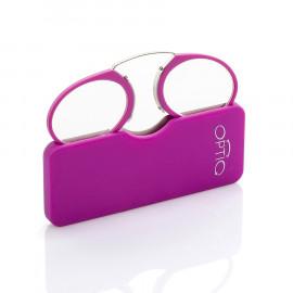 OPTIQ MINI occhiale da lettura - fucsia +2,00