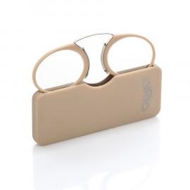 OPTIQ MINI occhiale da lettura - tortora +2,50