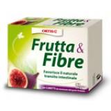 ORTIS Frutta e Fibre 12 Cubetti - Favorisce La Regolarità Intestinale