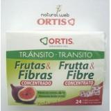 ORTIS Frutta e Fibre Concentrato 24 Cubetti - Concentrato Di Fibre