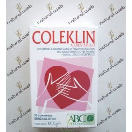 Coleklin Colesterolo 30 Compresse - Favorisce Normali Livelli Di Colesterolo