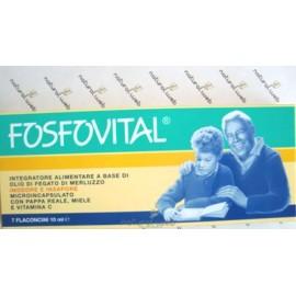 Fosfovital 7 Flaconcini - Riduce Stanchezza e Affaticamento