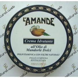 L'AMANDE Crema Idratante Viso-Corpo all'Olio di Mandorle Dolci