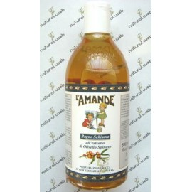 L'AMANDE Bagno Schiuma all'Olivello Spinoso | Per Una Pelle Idratata