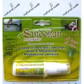 SANDOKAN Spray Corpo Aloe | Protegge dalle Punture di Zanzare e Insetti