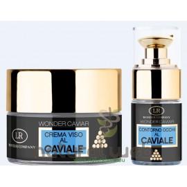 LR WONDER - Wonder Caviar Crema Viso 24H al Caviale + Contorno Occhi Effetto Lifting   Per una Pelle Setosa e Vellutata