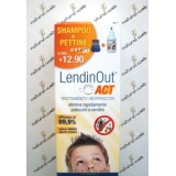 Lendin Out Act Trattamento Antipidocchi