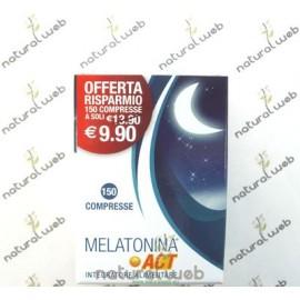 Melatonina ACT 1 Mg. 150 Compresse - Aiuta nel ciclo notturno/diurno | NATURALWEB