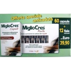 MIGLIOCRES 60 Capsule & 12 Fiale Offerta Risparmio | Anticaduta e Antiassottigliamento