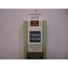MONILI Verde Color: tinta capelli Cacao Nr. 25