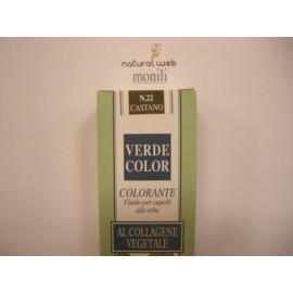 MONILI Verde Color: tinta capelli | Colore: Castano Nr.22