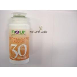 Nour Sapone di Aleppo 30 % Liquido da Viaggio | Tonificante ed Emilliente