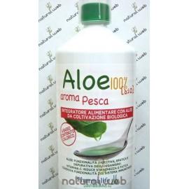 PHARMALIFE Aloe da Bere Biologico 100% Pesca | Digestivo e Depurativo