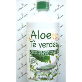 PHARMALIFE Aloe da Bere Biologico 100% e Te' Verde | Depurativo