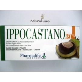PHARMALIFE Crema Pomata Ippocastano | Utile per crampi gambe gonfie, edemi, couperose e varici