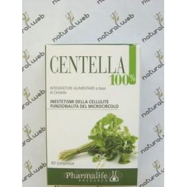 Pharmalife Centella 100% - Contro La Cellulite e l'Insufficienza Venosa