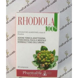 PHARMALIFE Rhodiola 100% Compresse Azione Tonificante | Naturalweb