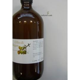 Pharmalife Olio di Argan 1 Litro - Antiossidante, Emolliente ed Elasticizzante