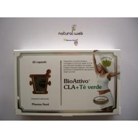 Pharma Nord BioAttivo Cla + The Verde compresse - Riduce la massa grassa corporea | NATURALWEB