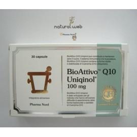 ubiquinolo  Pharma Nord BioAttivo Q10 Ubiquinolo - Antiossidante Antietà