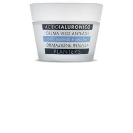 PLANTER'S  Crema Viso all'Acido Ialuronico | Idratante Intensiava e Anti-age