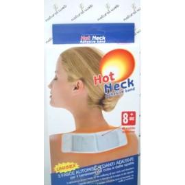 Hot Neck Adhesive Band 3 Fasce Autoriscaldanti Adesive | Benessere per il Collo e le Spalle
