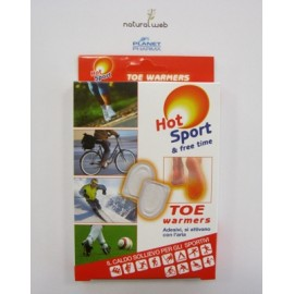 Planet Pharma Hot Sport Toe Warmers Piedi | Caldo Sollievo ai Piedi